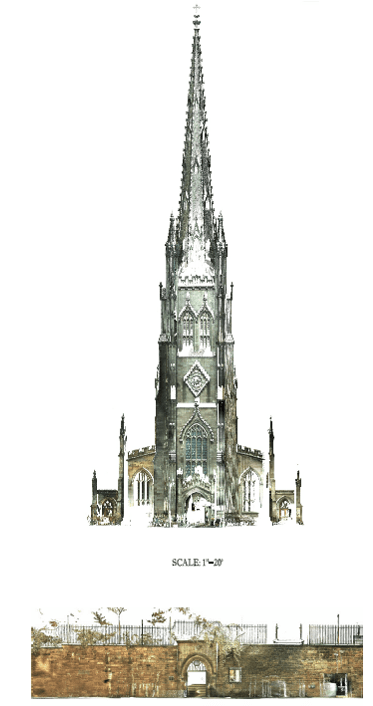 projects-historic-trinity-church-model-drawing