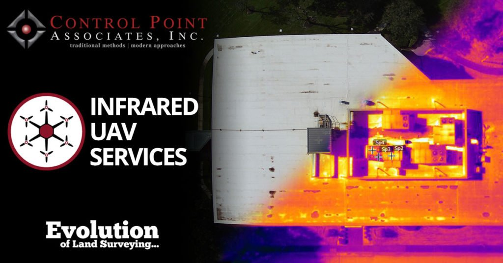 Infrared UAV Services from Control Point Associates, Inc.