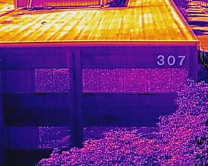 Infrared UAV Building Inspection
