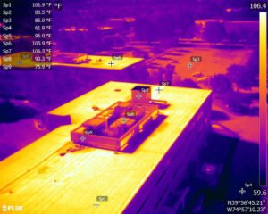 Infrared UAV Roof Survey